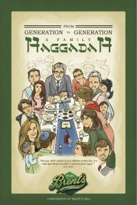Brent's Deli introduces new, complimentary Haggadah