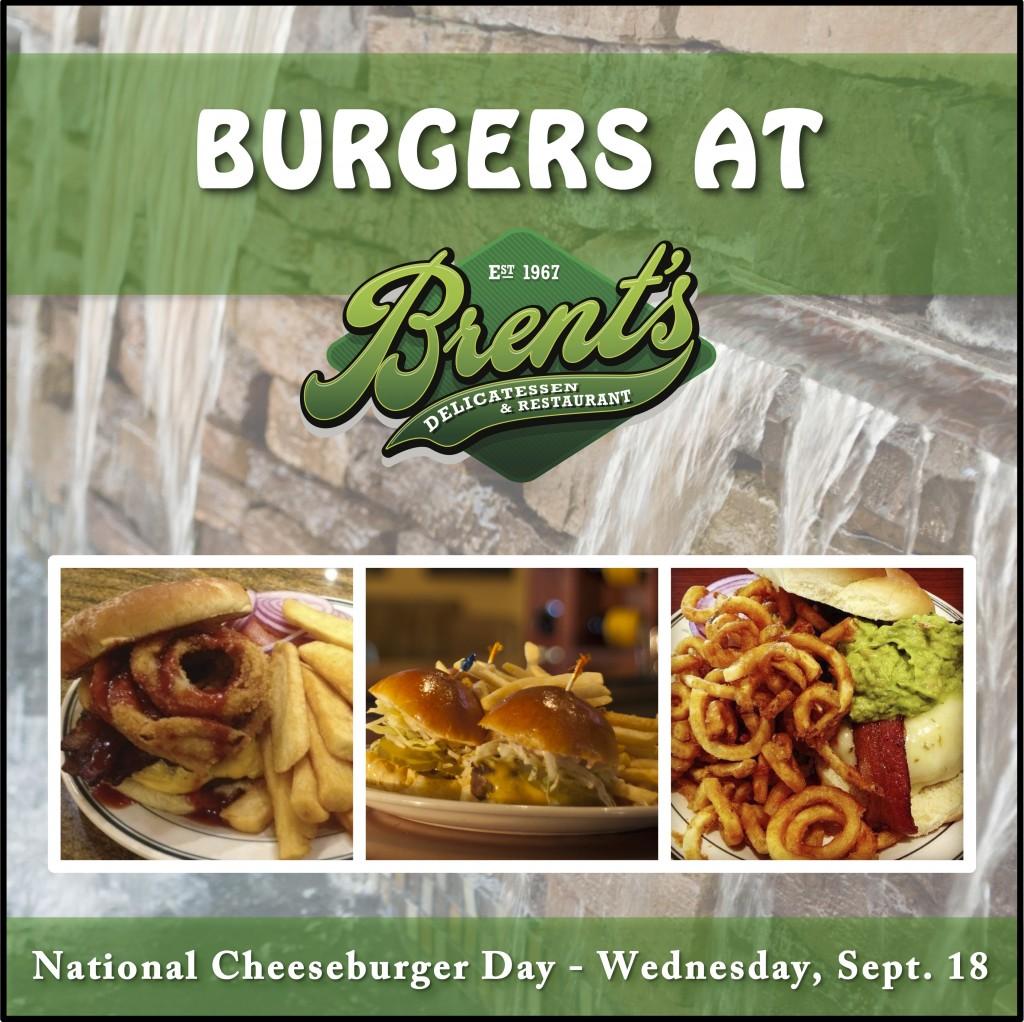 Burgers at Brent's