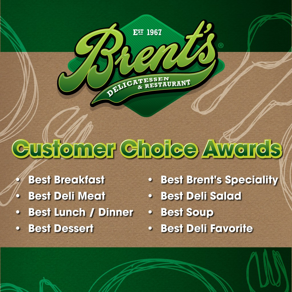 Brent's Deli Customer Choice Awards