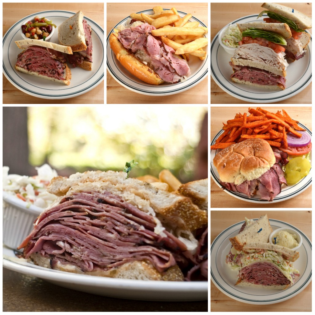 Brent's Deli pastrami sandwich
