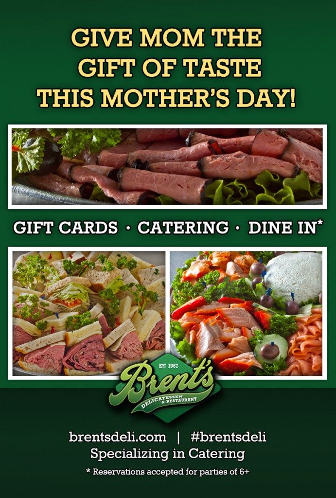 Mother's Day at Brent's Deli