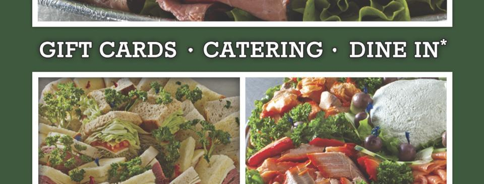 Father's Day catering gift card restaurant reservations