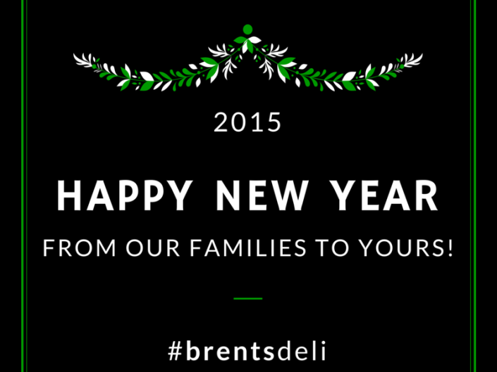 Brent's Deli Northridge Westlake Village restaurant delicatessen New Year's 2015
