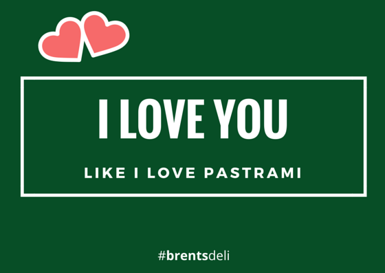 Brent's Deli Valentine's Day pastrami Northridge Westlake Village Los Angeles restaurant delicatessen