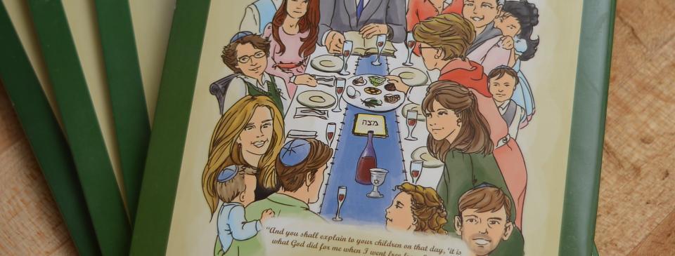 Brent's Deli Passover Haggadah pesach catering Jewish holidays restaurant delicatessen Northrige Westlake Village Los Angeles