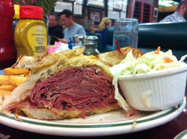 Brent's Deli Northridge Westlake Village Los Angeles sandwich restaurant delicatessen