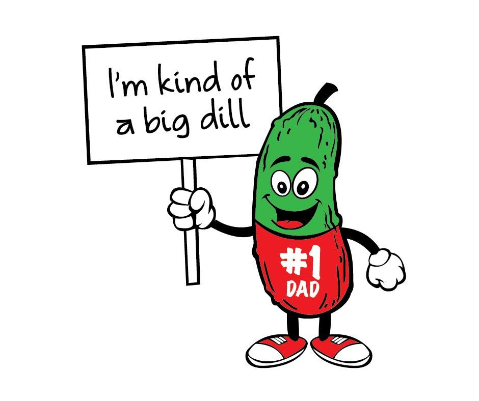 dill pickle deli Jewish Father's Day