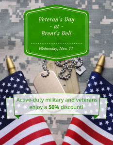 Veteran's Day Nov., 11th