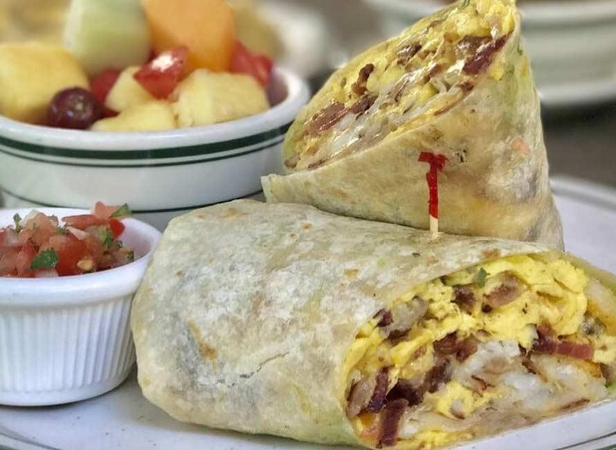 Brent's Healthy Breakfast Burrito