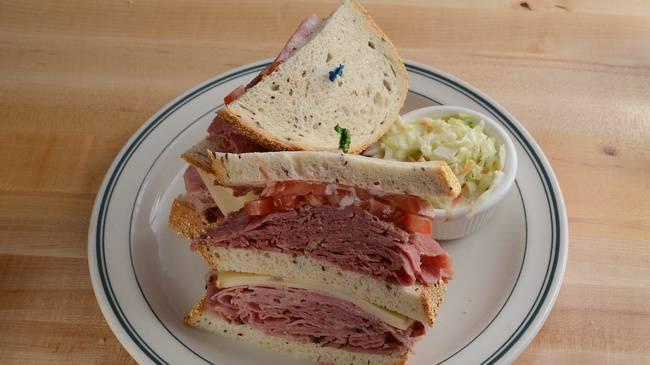 Brent's Deli Triple-Decker Sandwiches