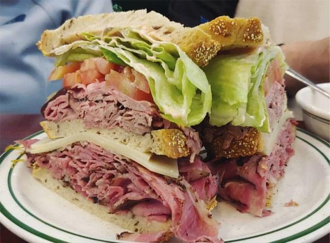 Triple-Decker Sandwiches in LA