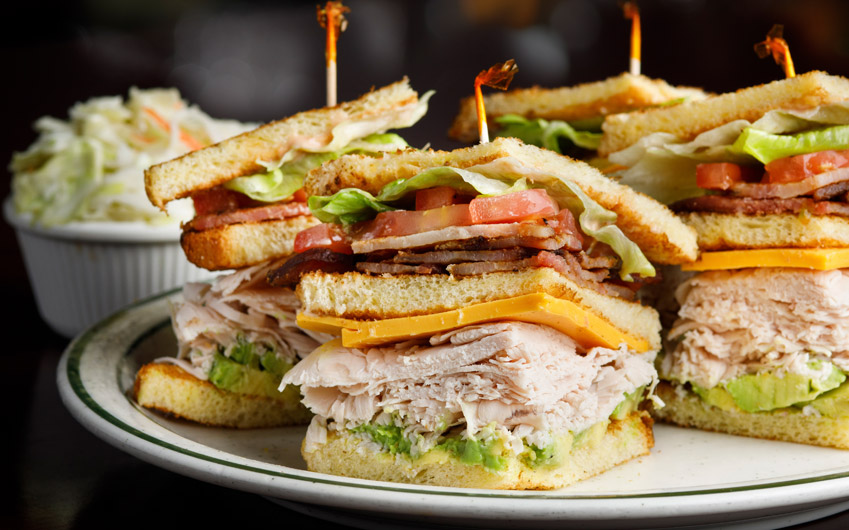 Brent's Special Club Sandwiches
