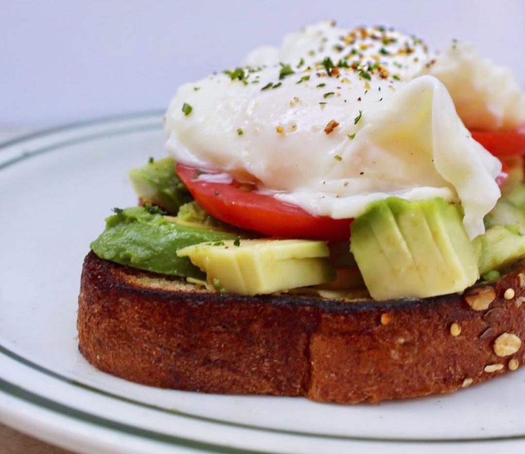 Healthy Avocado Toast to Celebrate the Start of Spring