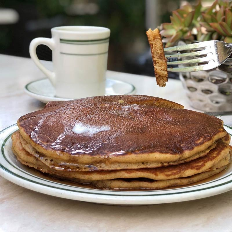 Perfect Fluffy Pancakes in LA