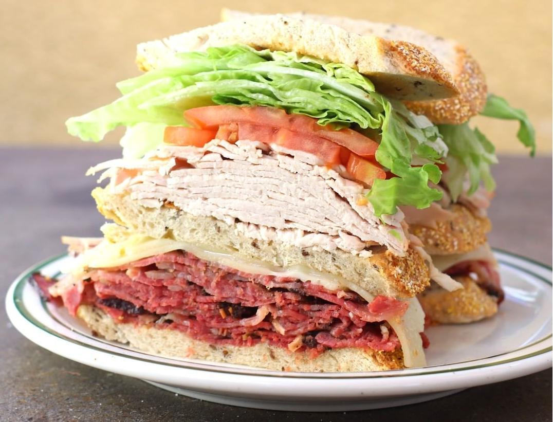 Delicious Brent's Deli Turkey Sandwich