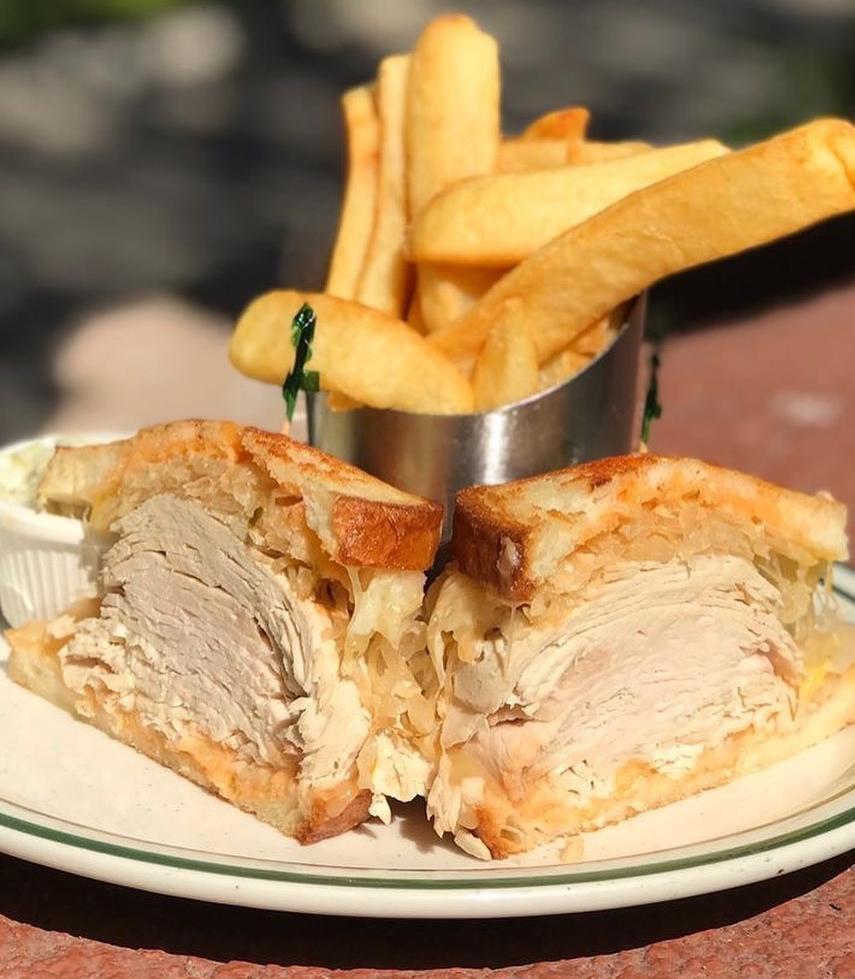 Healthy Turkey Sandwich Meal